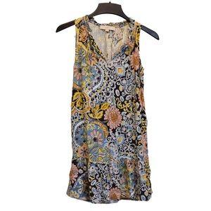 Ann Taylor loft dress patterned flower